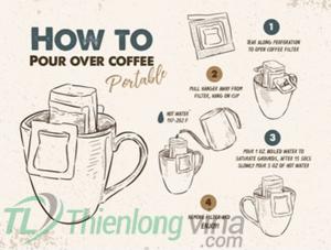 Drip Coffee là gì? Hướng dẫn pha Drip Coffee chuẩn Barista